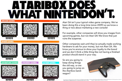 Ataribox Does What Nintendon't